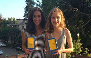 Congrats to Hannah and Petra for advancing to octafinals at the Cal National Speech and Debate Institute's tournament!